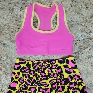 Youth large Crazypants cheer set
